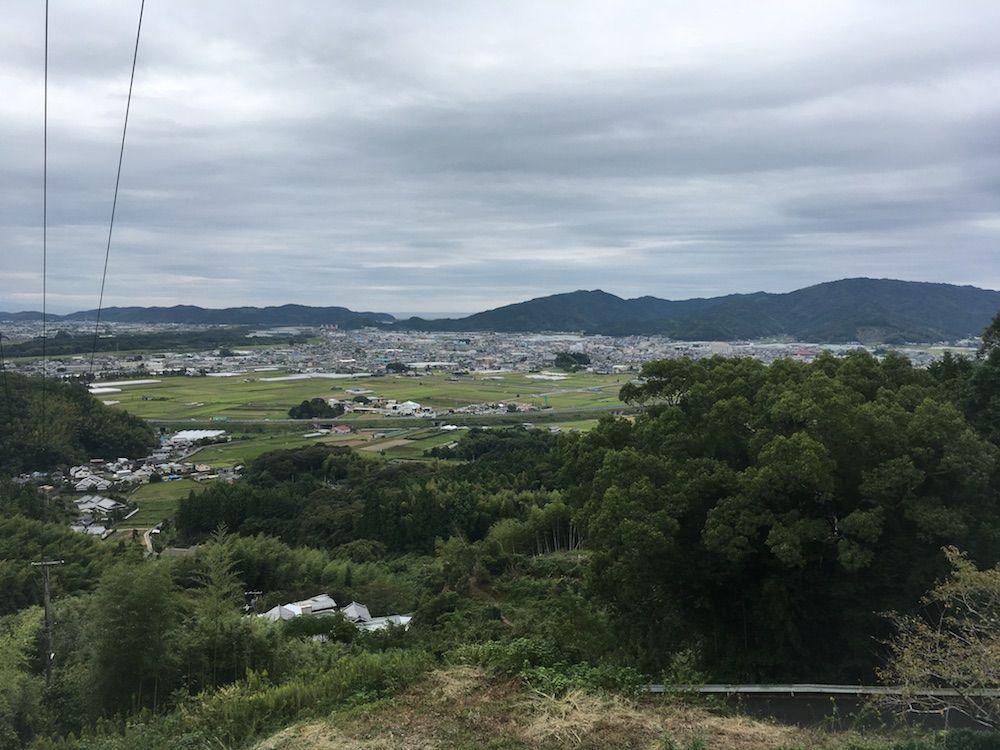 清瀧寺からの景色