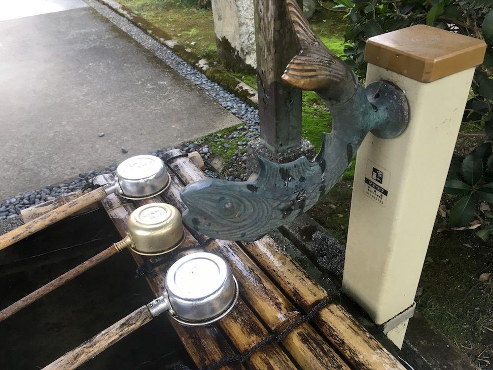 延光寺の手水舎