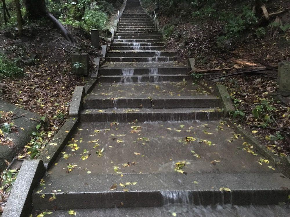 弥谷寺の階段
