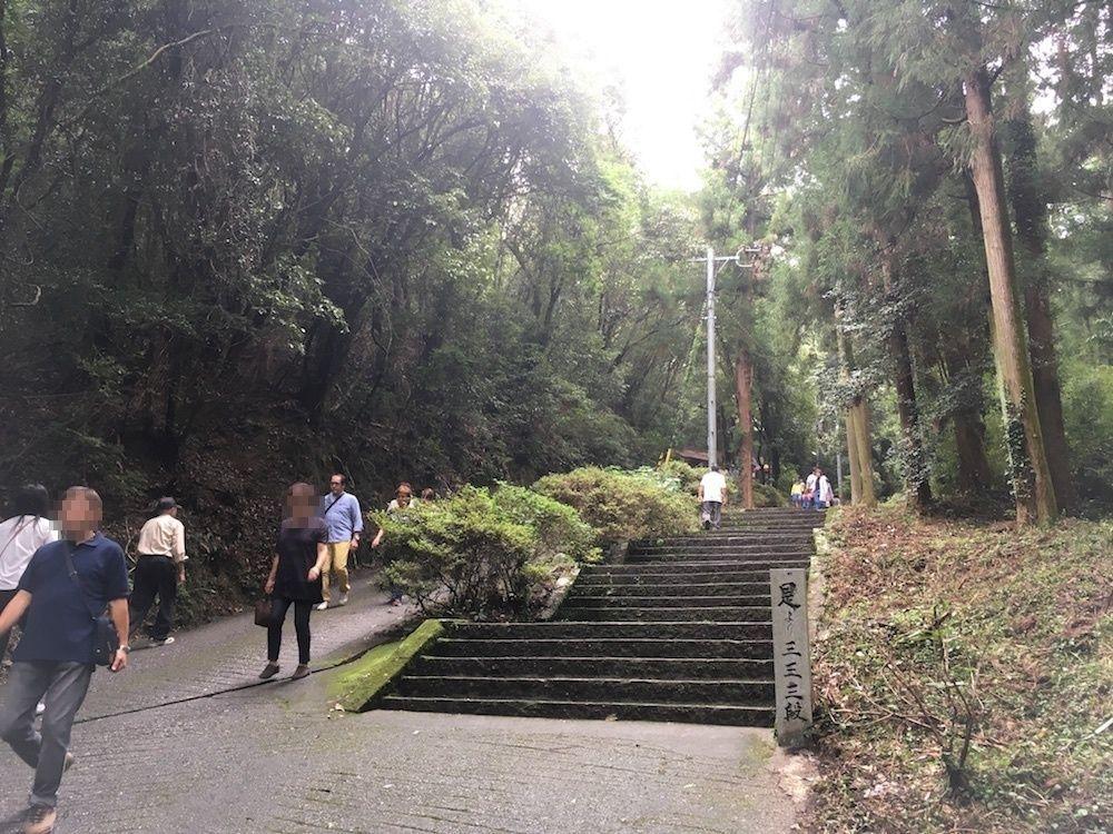 切幡寺の階段