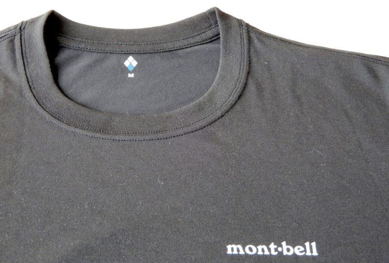 モンベルのウィックロンTシャツ