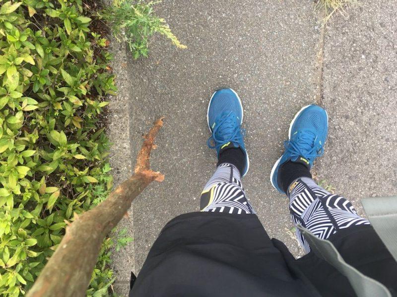 遍路での靴下