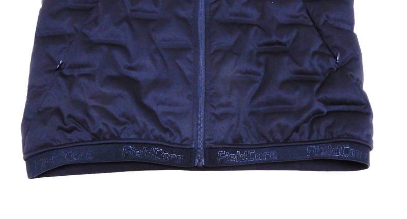エアロ ストレッチ アルティメット フーデッドパーカーの裾