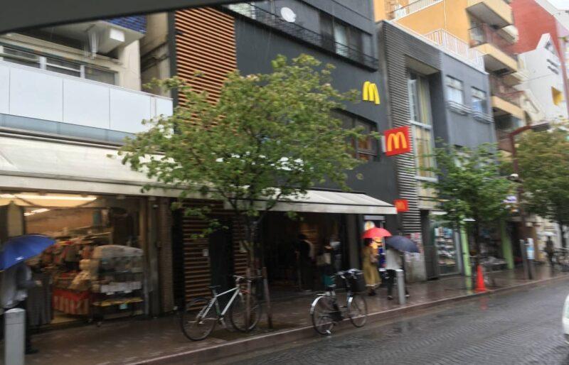 マクドナルド 麻布十番店