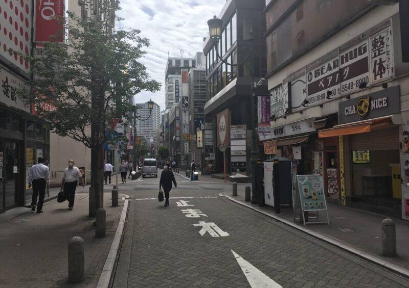 赤坂見附の繁華街